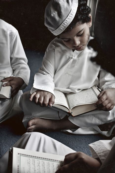 Reading Quran..... Just like everywhere else life is partly about learning, about learning to think, about growing