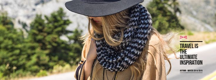 Travel is the ultimate inspiration by #achilleas_accessories Autumn/Winter 2014