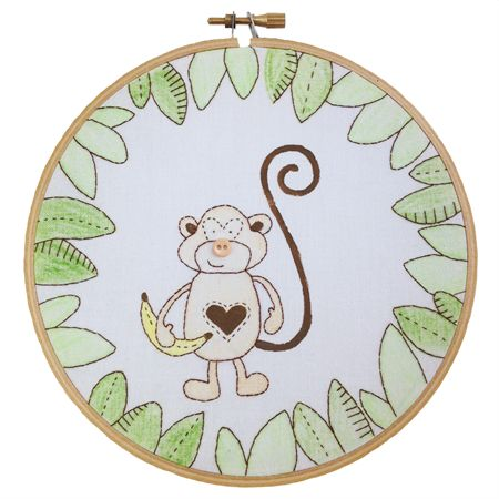 Jungle Monkey Art Stunning artwork perfect for any jungle themed nursery, child's bedroom or play room