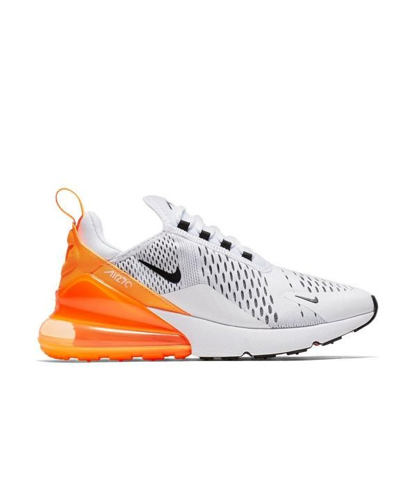 Nike Air Max 270 White Orange Womens