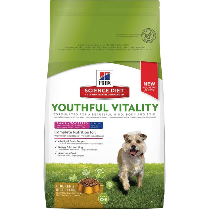 Hill's+Science+Diet+Youthful+Vitality+Adult+7++Small+&+Toy+Breed+Chicken+&+Rice+Recipe+Dog+Food+-+Precisely+balanced+nutrition+to+fight+signs+of+aging+in+your+Adult+7++dog - https://www.petco.com/shop/en/petcostore/product/hills-science-diet-youthful-vitality-adult-7-small-and-toy-breed-chicken-and-rice-recipe-dog-food