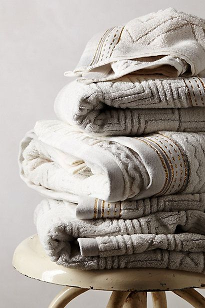 Windstream Towel Collection - anthropologie.com #anthrofave