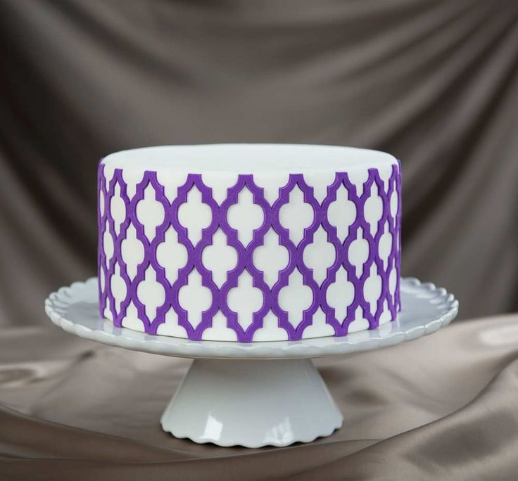 Moroccan Lattice Onlay Mold by Marvelous Molds