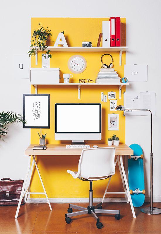 Como montar um home office super charmoso: clique na imagem e confira!