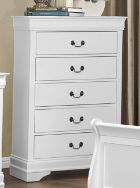 Homelegance Mayville Collection White Chest of Drawers 2147W-9
