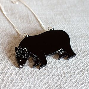 Bear Necklace - necklaces & pendants
