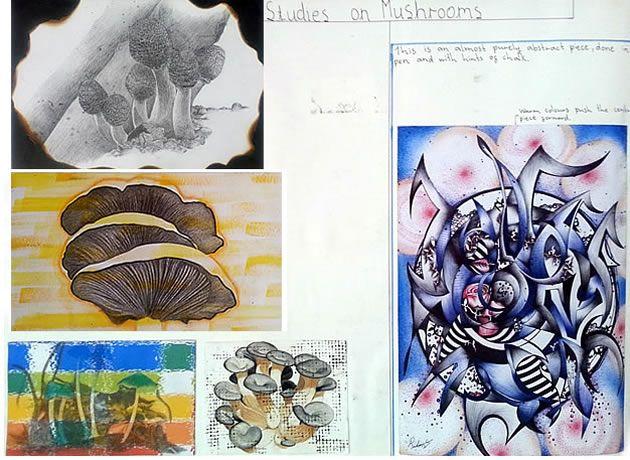 art gcse coursework examples