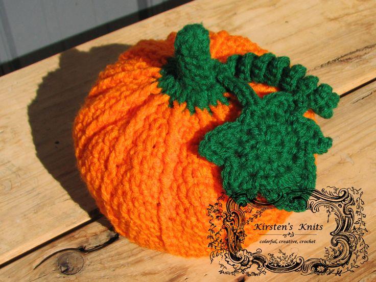1000+ ideas about Crochet Pumpkin Hat on Pinterest ...
