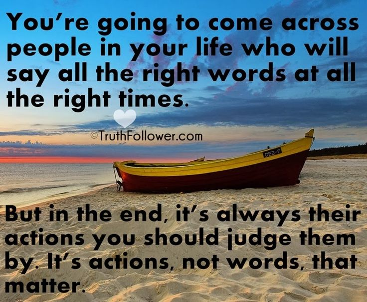 Actions And Words Quotes: Actions Versus Words Quotes. QuotesGram