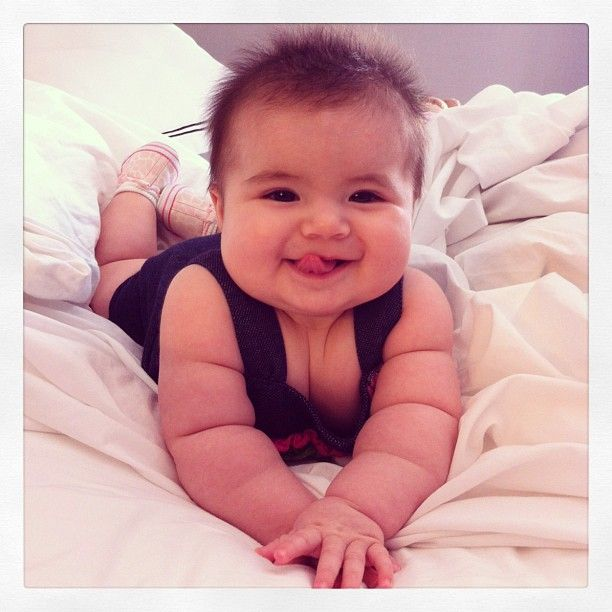 """Get your dose of """"awww"""" with these 10 sets of the most pinch-worthy baby cheeks on the web!"""