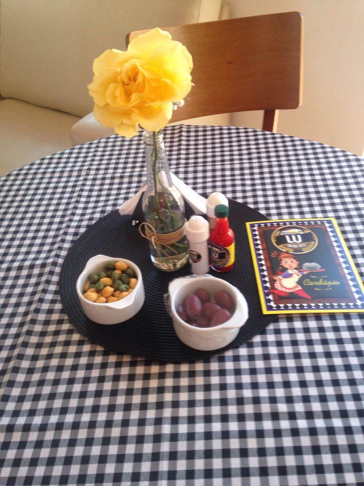 decoracao de mesa boteco:Mesa De Boteco
