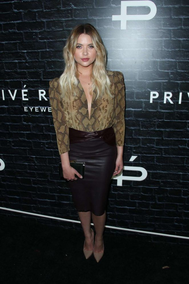 Ashley Benson at the Privé Revaux Eyewear Launch in Hollywood