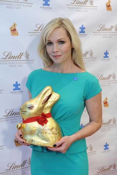 Lindt Chocolate Bunny ...... just the right size.