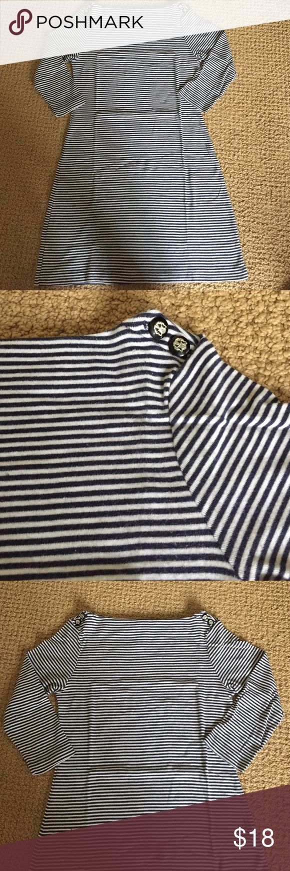 Gap Outlet Boatneck 3/4 Sleeve Knit Dress great condition == perfect worn on its own or with leggings! GAP Dresses Long Sleeve
