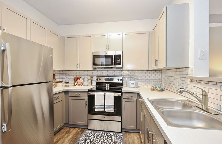 Imagine all the delicious dishes you can make in this kitchen?! #ArriveWatertower #EdenPrairie #yum
