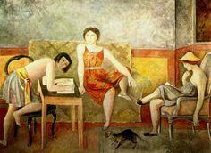 Balthus les trois soeurs - Het zouden zomaar ook de drie LiRiAn zussen kunnen zijn :)