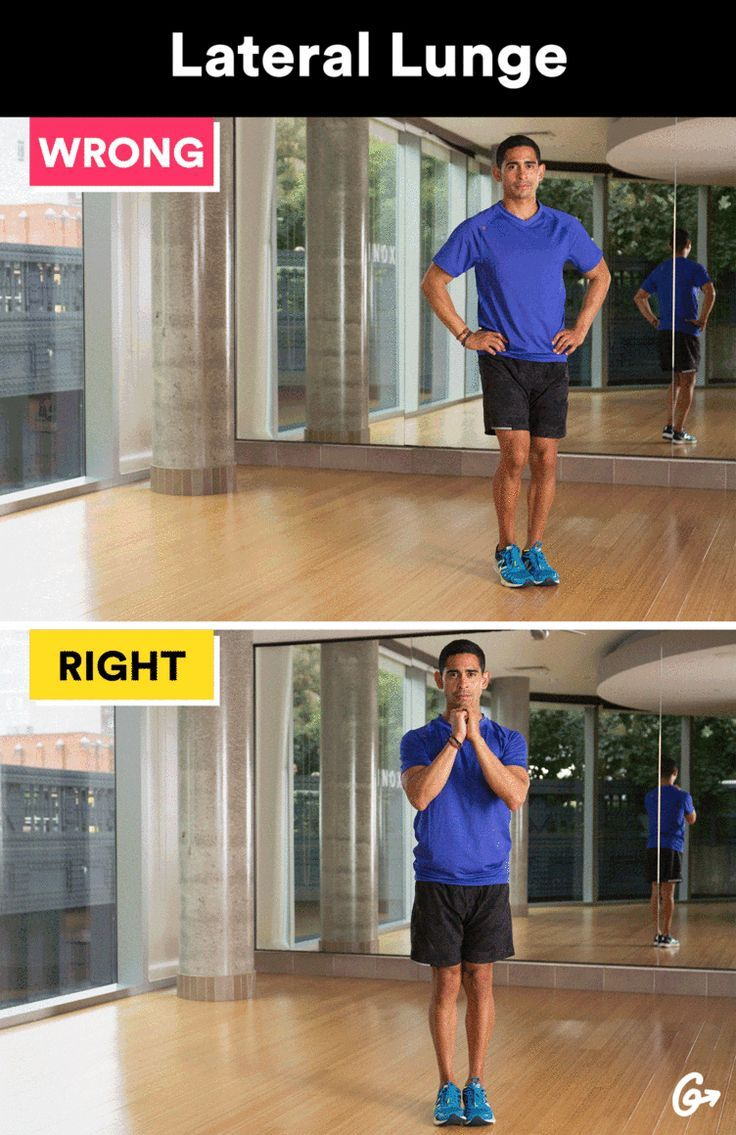 Lateral Lunge  http://greatist.com/move/basic-exercises-moves-youre-doing-wrong-and-how-to-fix-them