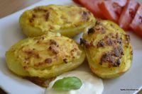 Plněné brambory, nápad na rychlou večeři