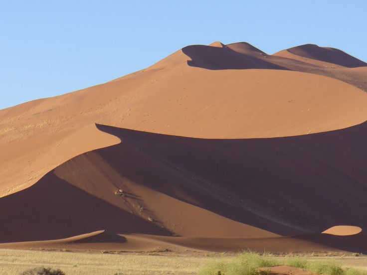 Ever changing Namibian dune!