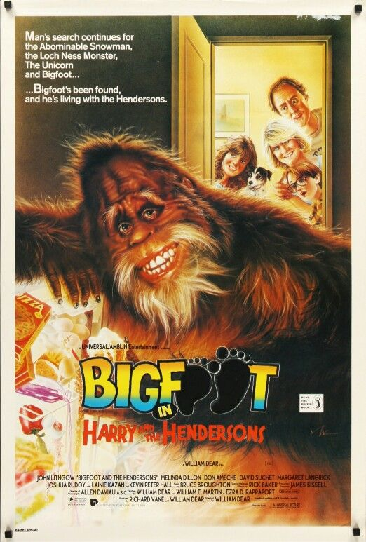 HARRY AND THE HENDERSONS (1987) I'm the Henderson Residence lol Maybe like Bigfoot the PCH Big Check will find this HENDERSON!!