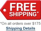 Free Shipping on orders over $175*