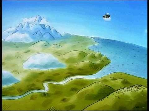 Film d'animation le voyage d'une goutte d'eau