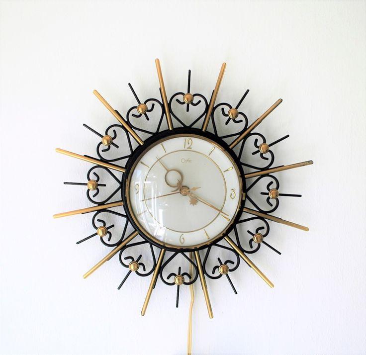 Orfac zonneklok, jaren 50 vintage | Klokken @Original 20NL