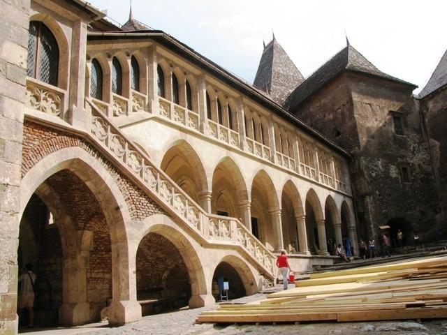 Vajdahunyad (Erdély)- Hunyadi János and his son, hungarian king Hunyadi Mátyás (aka. Mathias rex, aka. Corvin Mátyás) owned this castle. Eastern-Carpathians, Transylvania/Erdély