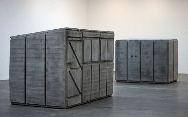 Rachel Whiteread. I love the way her work makes me feel. It provokes a kind of melancholy as well as a wry smile simultaneously.