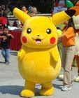 2014 cartoon pikachu mascot costume for sale