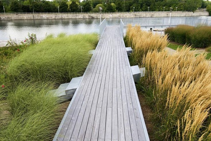 Welland Canal Park & Civic Square | Janet Rosenberg and Studio Pinned to Garden Design by Darin Bradbury.