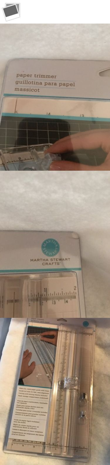 Cutters and Trimmers 183174: Martha Stewart Craft Simple Paper Trimmer 12 Inch -> BUY IT NOW ONLY: $34.99 on eBay!