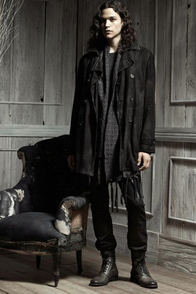 dark mori man, dark mori fashion, goth men