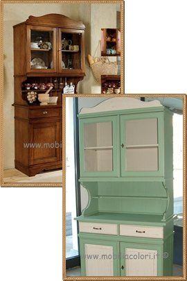 Oltre 25 fantastiche idee su dipingere i mobili della cucina su pinterest mobili da cucina - Dipingere mobili cucina vecchia ...
