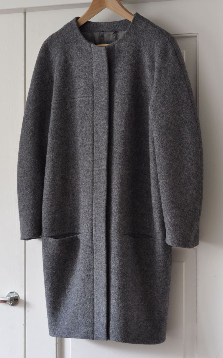 Burda cocoon coat by Way of the Wool                                                                                                                                                      More