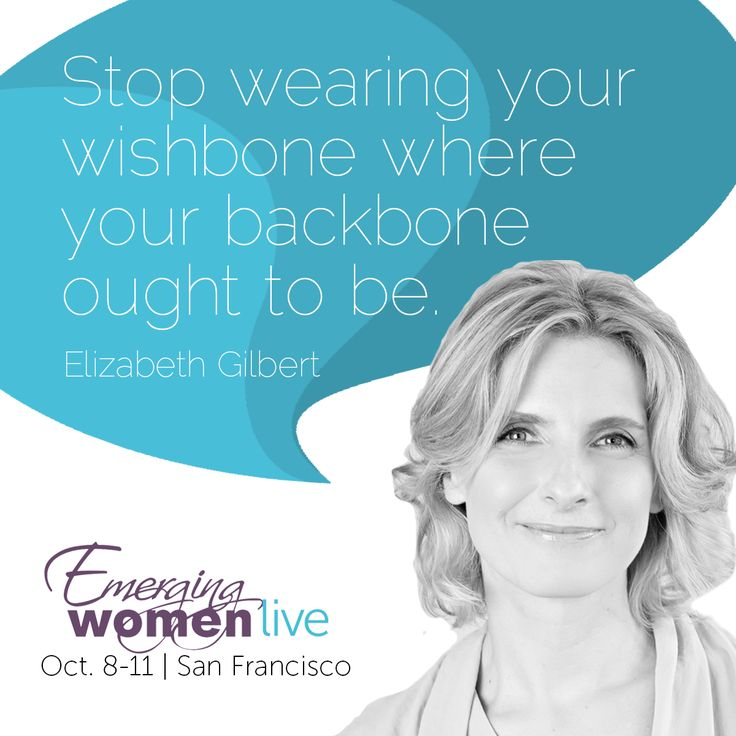 Liz Gilbert, author of Eat Pray Love, and new book, #BigMagic, is speaking at #EWLive15 alongside Brené Brown at 11:25 AM PST on Friday, October 9. She'll speak solo again at 5:30 PM PST also on Friday, October 9. Catch her on the FREE event live stream: live.soundstrue.com/emergingwomen15/