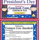 This 19 page President's Day Kindergarten Common Core Counting up to 20 activity includes 20 task cards, 2 covers to create two books if you would ...