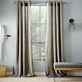 Varick Striped Linen Window Panel | west elm