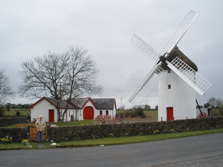 The 18th century Elphin Windmill in Co. Roscommon Ireland- this is about a 5 minute drive from my Granny's house <3
