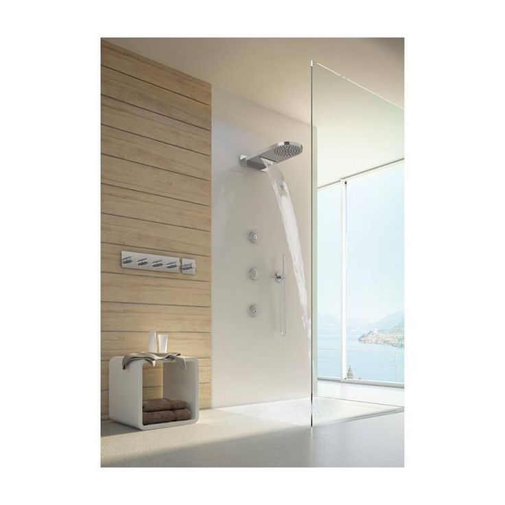 Luxury shower made in #cristinarubinetterie spotted on @platform_ad #blog thank you! — with Platform Architecture and Design.