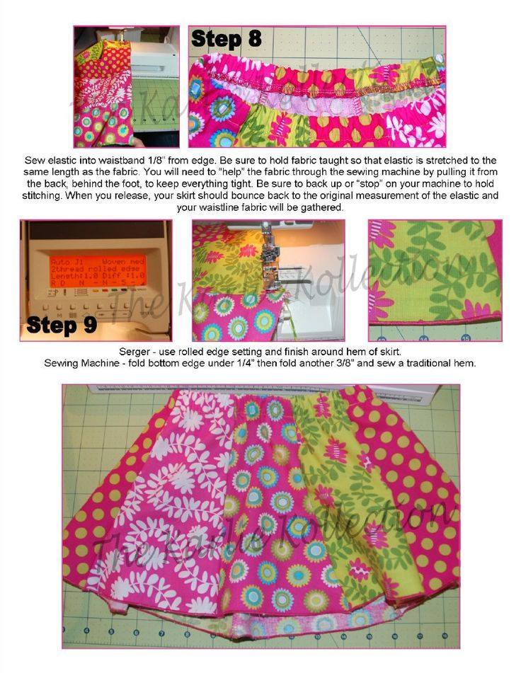 Toddler Tulip Skirt-Just made this for Zoey and love it!  Next time I will put the elastic in after sewing a casing though. Much easier.