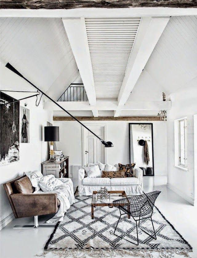 my scandinavian home: A truly inspiring Swedish home in monochrome