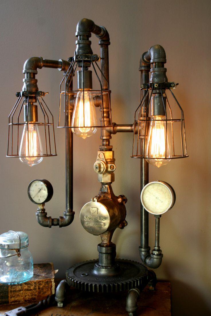 12 Best Lampade Al Plasma Images On Pinterest Steampunk Gadgets Circuit Board Lamp Neatorama Machine Age Steam Gauge 56 Sold