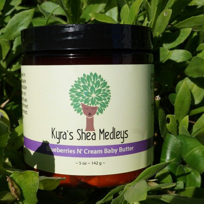 AVAILABLE TOMORROW!  Our new Blueberries N' Cream Baby Butter is just a day away! Treat your little ones and yourself to this heavenly blend of Shea & Blueberry Butters, Vanilla Essential Oil with a hint of fresh baby powder. Hand-whipped, soft, creamy, sweet-smelling Butter Cream for your skin and hair.  We ship worldwide! Order here: www.KyraSheaMedleys.com