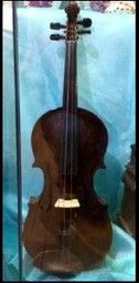 ​This violin was spotted on display in Goole Museum, in the East Riding of Yorkshire.  According to the label, it was made circa 1921 by R.S. Pike of Goole.  The instrument has a stained and...