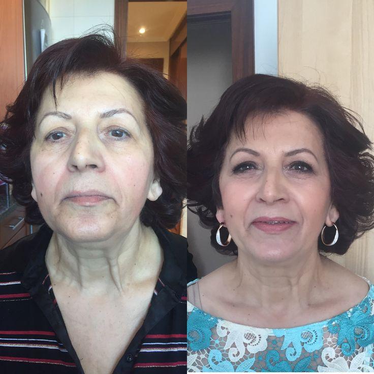 Maquillaje piel madura Vanessa Merlo Makeup artist