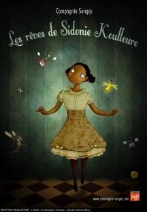 Les Rêves de Sidonie Koulleure : Spectacle de marionnette, danse, théâtre et vidéo. Au musée du Verre et du Cristal à Meisenthal, dimanche 19 mai 2013 à 14h30et 15h15.