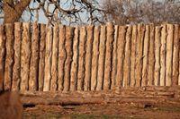 Забор из необрезной доски своими руками | Строительный портал