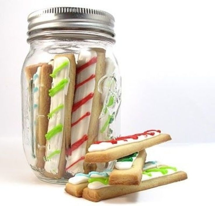 20. #Christmas Cookie #Sticks - 33 Christmas Cookies for This Year's #Holidays ... → Food #Party