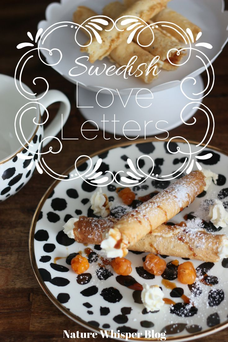 Swedish Love Letters ( Rullrån ) Recipe